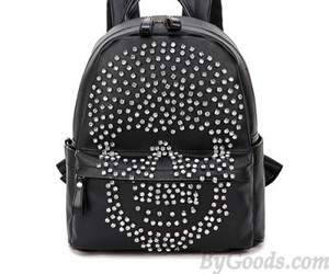 backpack, fashion, and black image