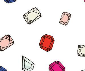 wallpaper and diamond image