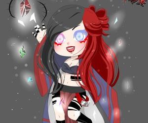 anime emo girl image