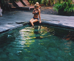girl, summer, and goals image