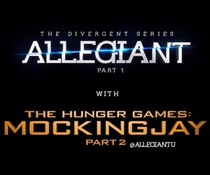 the hunger games, mockingjay, and divergent image