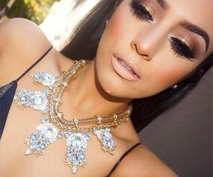 beauty, contour, and jewelry image
