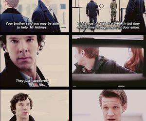 doctor who, sherlock, and matt smith image