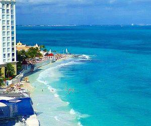 beach, cancun, and heaven image