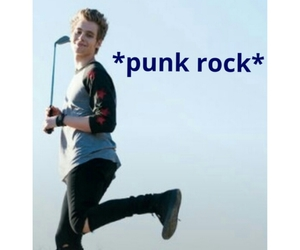 lol, punk rock, and luke hemmings image