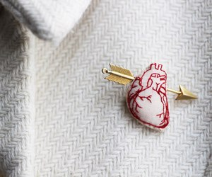heart, accessories, and arrow image