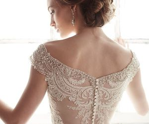 beautiful, glamour, and gown image