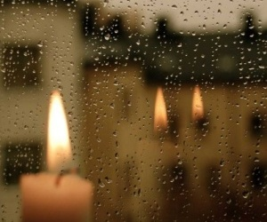 rain and candle image