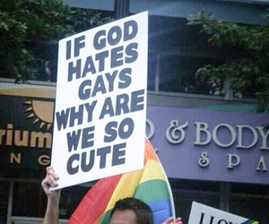 gay, god, and funny image