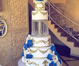 blue, love, and cake image