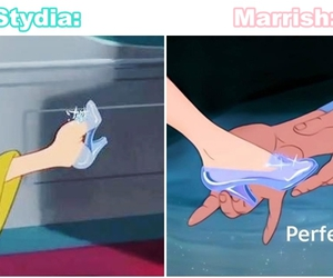 cinderella, shoes, and deputy parrish image