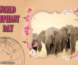 fancygreetings and elephant day image