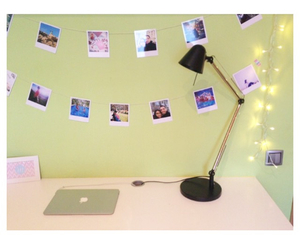 decor, desk, and girly image