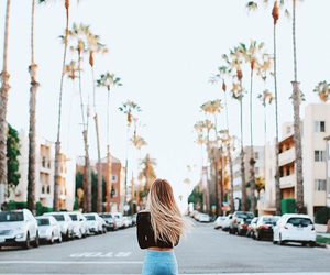 girl, california, and blonde image