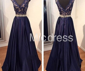 ball gown, evening dress, and wedding gown image