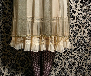 pattern, tights, and victorian image