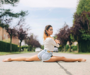 dance, girl, and gymnastics image
