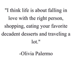 quote, life, and shopping image