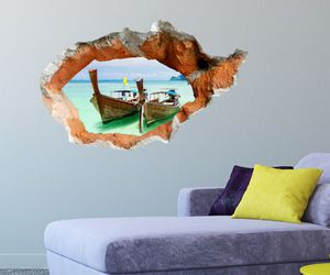 sea, decal, and 3d illusion image