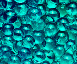 background, balls, and blue image