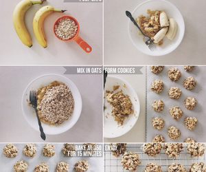banana, food, and healthy image