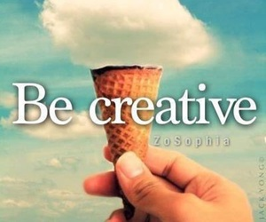 creative, clouds, and ice cream image