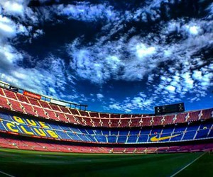 camp nou, fcb, and mes que un club image