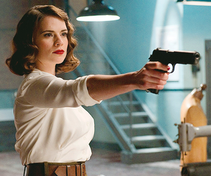 captain america, Marvel, and hayley atwell image