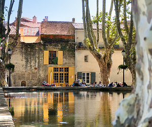 city, france, and provence image