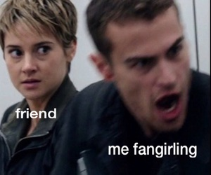 divergent and fangirl image