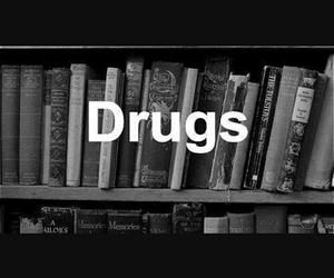 black, book, and drugs image