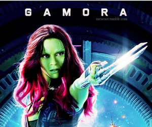 gamora, Marvel, and guardians of the galaxy image