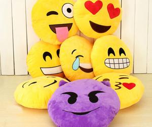 emoji, pillow, and emojis image