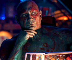 Marvel, drax, and guardians of the galaxy image