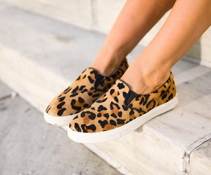 fashion, shoes, and leopard image