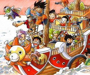 one piece and crossover image