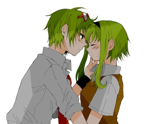 gumi, couple, and green hair image
