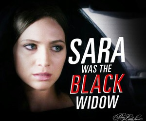 pretty little liars, pll, and sara harvey image
