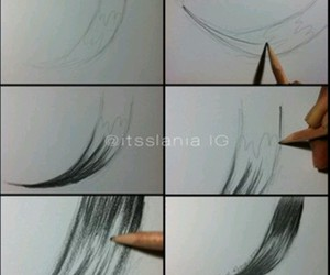 hair and how to draw image