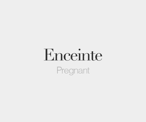 francais, french, and pregnant image