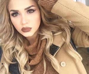 makeup, hair, and make up image