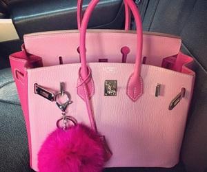pink, bag, and hermes image