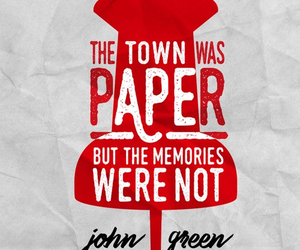 book, john green, and paper town image