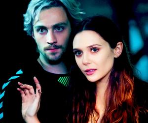 Marvel, quicksilver, and scarlet witch image