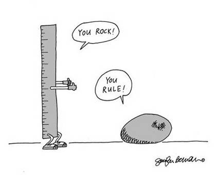 rock, funny, and rules image