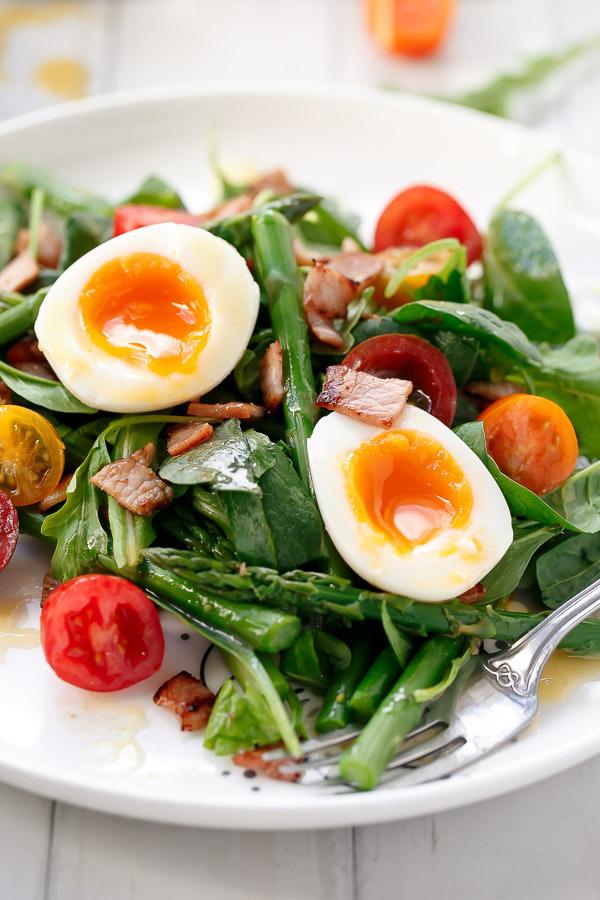 Салат на завтрак картинки
