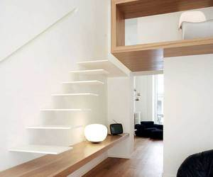 architecture, interior design, and stair image