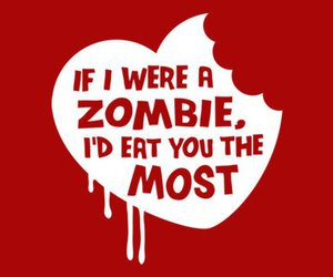 zombie, eat, and heart image