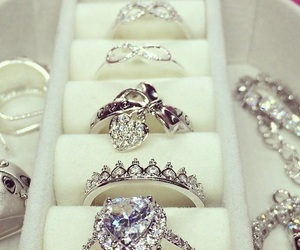 bride, diamond, and girlfriend image