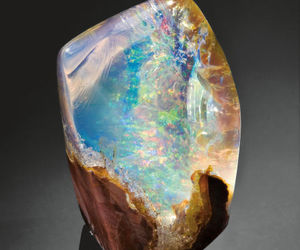 beautiful, rocks, and opal image